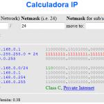 Calculadora de IP – Subnet y Supernet