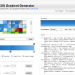 Generador de gradiente Css