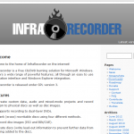 Infra Recorder – Grabador de CD-DVD